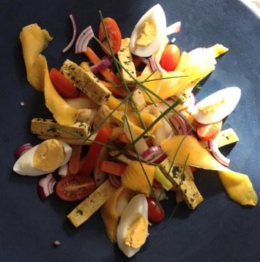 Vegearisch gerecht met Brabantse asperges