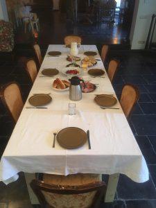 Catering Chef Léon uit Veghel Tafel opmaak